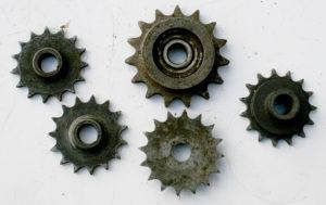 Various magneto sprockets