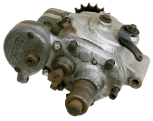 Norton Dolls Head Gearbox