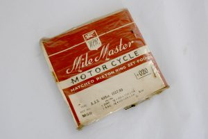 Mile Master AJS 500cc Piston Rings +20 for sale