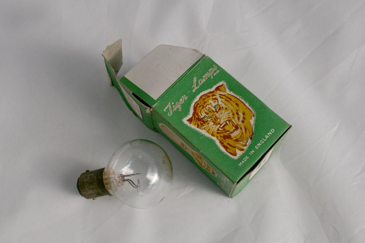 Tiger lamps 6v twin filament headlamp bulb spa cottage for Lampen 0 36w 6v