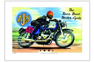 AJS Sales Catalogue A3 print at Spa Cottage Collectables