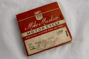Velocette MSS piston rings for sale Spa Cottage Collectables