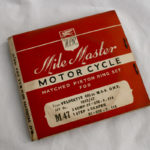 Velocette MSS Piston Ring Set +30