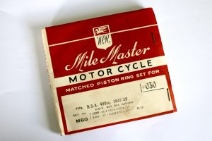 BSA 500cc B33 & B34 Gold Star Piston Ring Set +30 for sale at Spa Cottage Collectables