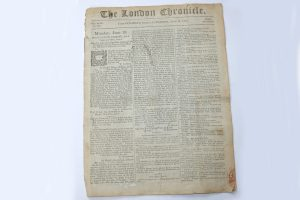 The London Chronicle Newspaper June 9-11 1805