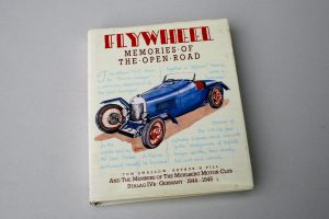 Flywheel - Memories of the Open Road, The Muhlberg Motor Club hard back book for sale spa cottage collectables