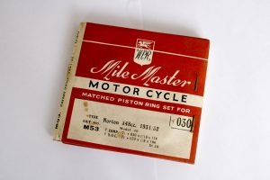 Norton Manx Model 40 350cc Piston Ring Set +30 1931/52